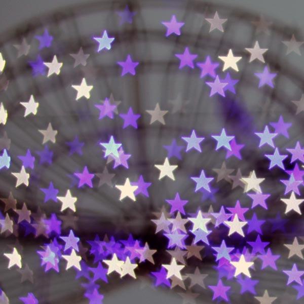 Festive Bokeh Stars