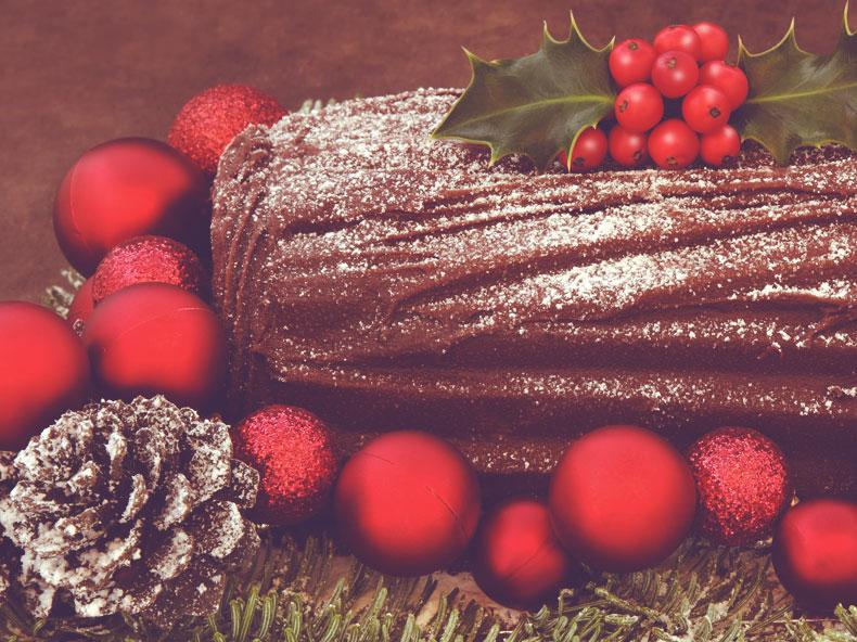 Chocolate Yule Log   The Pantiles   Royal Tunbridge Wells